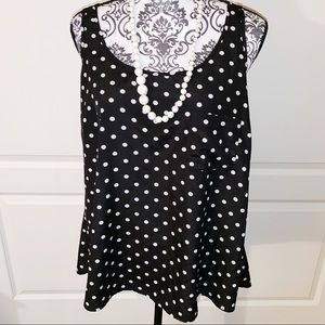 Forever 21 Plus + SIZE XL Polka dot Camisole